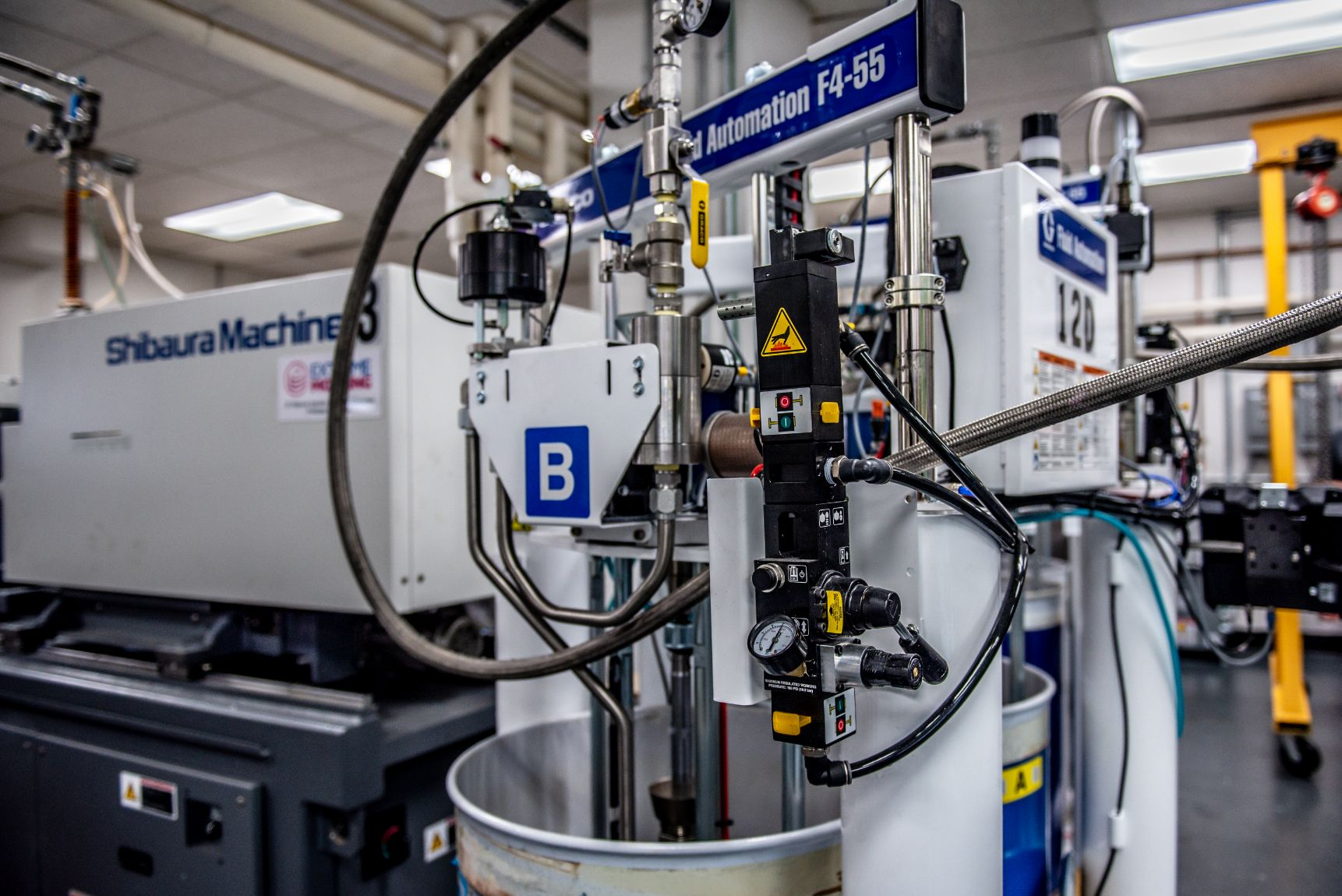 Silicone Injection Molding Machine at Extreme Molding Warehouse in Watervliet NY